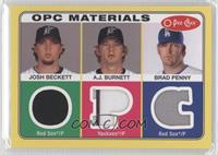 Josh Beckett, A.J. Burnett, Bryan Petersen