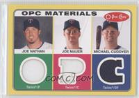 Joe Nathan, Joe Mauer, Michael Cuddyer