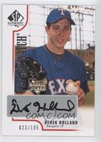 Derek Holland /195