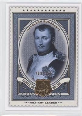2009 SP Legendary Cuts - [Base] #181 - Napoleon Bonaparte /550