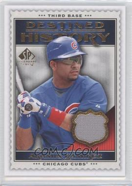 2009 SP Legendary Cuts - Destined for History #DHM-AR - Aramis Ramirez
