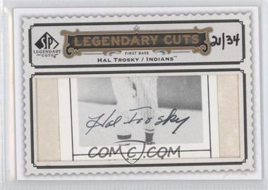 2009 SP Legendary Cuts Legendary Cuts #LC-239 - Hal Trosky /34
