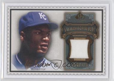 2009 SP Legendary Cuts Legendary Memorabilia Olive Green #LM-BO - Bo Jackson /125