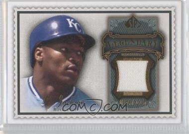 2009 SP Legendary Cuts Legendary Memorabilia Olive Green #LM-BO2 - Bo Jackson