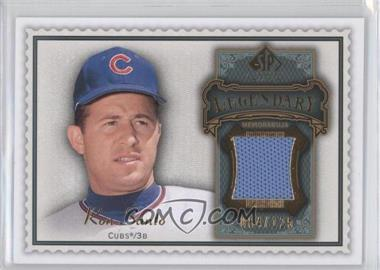 2009 SP Legendary Cuts Legendary Memorabilia Olive Green #LM-SA - Ron Santo /125
