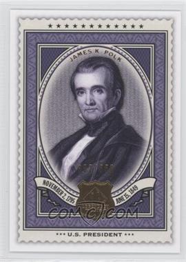 2009 SP Legendary Cuts #149 - James K. Polk /550