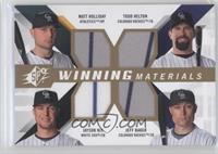Todd Helton, Jayson Nix, Matt Holliday, Jeff Baker