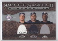 Ryan Braun, Prince Fielder, Bill Hall