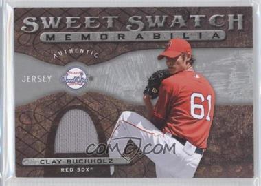 2009 Sweet Spot Sweet Swatch Memorabilia #SS-CB - Clay Buchholz