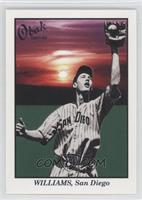 Ted Williams (No Shape around Number)