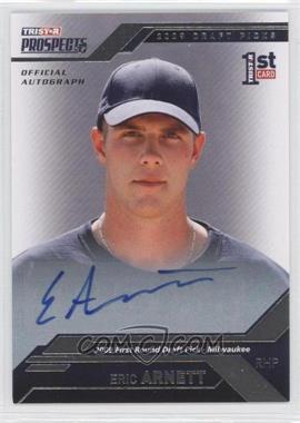 2009 TRISTAR Prospects Plus - [Base] - Autographs [Autographed] #21 - Eric Arnett /199