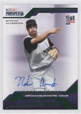 2009 TRISTAR Prospects Plus - [Base] - Green Autographs [Autographed] #47 - Nolan Arenado /25