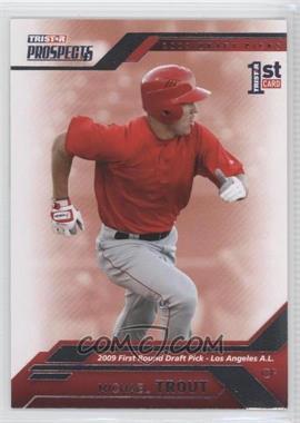 2009 TRISTAR Prospects Plus - [Base] #20 - Mike Trout