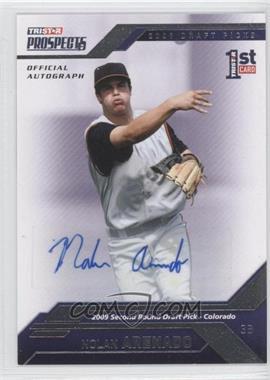 2009 TRISTAR Prospects Plus [???] #47 - Nolan Arenado /199