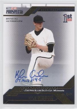 2009 TRISTAR Prospects Plus Gold Autographs [Autographed] #17 - Kyle Gibson /50