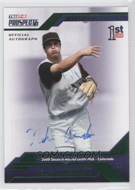 2009 TRISTAR Prospects Plus Green Autographs [Autographed] #47 - Nolan Arenado /25