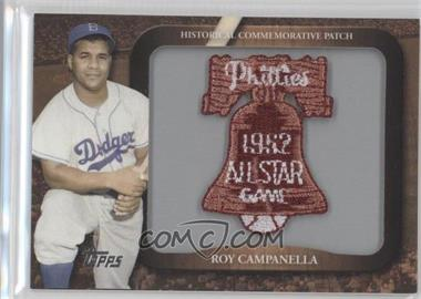 2009 Topps - Legends of the Game Manufactured Commemorative Patch #LPR-115 - Roy Campanella