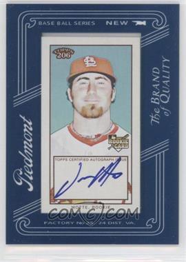 2009 Topps 206 - Framed Mini Autographs #FMA-21 - Jason Motte