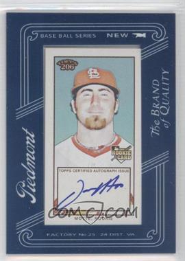 2009 Topps 206 Framed Mini Autographs #FMA-21 - Jason Motte