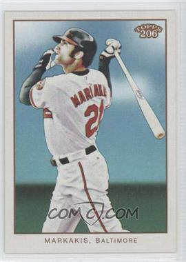 2009 Topps 206 Name On Back #122 - Nick Markakis