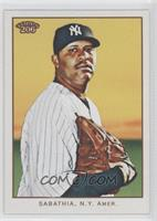 C.C. Sabathia (no card number)