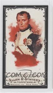 2009 Topps Allen & Ginter's - [Base] - Mini Black Border #259 - Napoleon Bonaparte