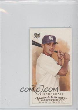2009 Topps Allen & Ginter's - [Base] - Mini No Number #232 - Everth Cabrera /50