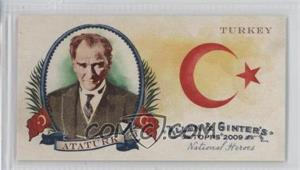 2009 Topps Allen & Ginter's - National Heroes Minis #NH28 - Mustafa Ataturk