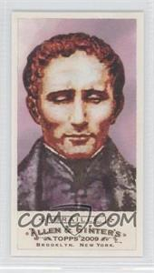 2009 Topps Allen & Ginter's Mini Red Bazooka Back #260 - Louis Braille /25