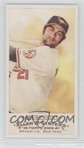 2009 Topps Allen & Ginter's Mini Rip Card High Numbers #354 - Nick Markakis
