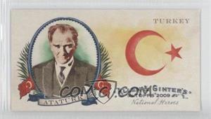 2009 Topps Allen & Ginter's National Heroes Minis #NH28 - Mustafa Ataturk