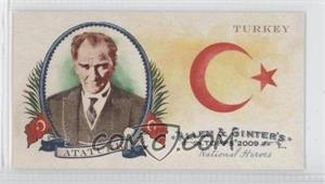 2009 Topps Allen & Ginter's National Heroes Minis #NH28 - Turkey