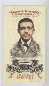 2009 Topps Allen & Ginter's World's Biggest Hoaxes, Hoodwinks and Bamboozles Minis #HHB1 - Chuck Porter