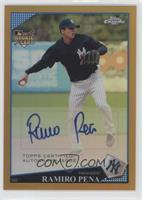 Autographs - Ramiro Pena /50
