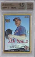 Autographs - Derek Holland /50 [BGS 9.5]