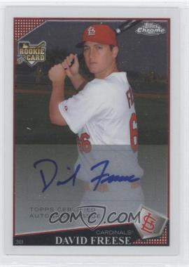 2009 Topps Chrome #230 - David Freese