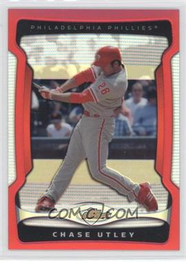 2009 Topps Finest Red Refractor #26 - Chase Utley /25