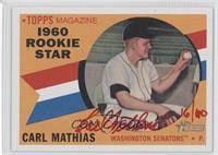 Carl Mathias /60