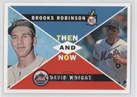 David Wright, Brooks Robinson