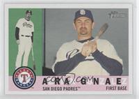 Adrian Gonzalez (Texas Rangers Logo)
