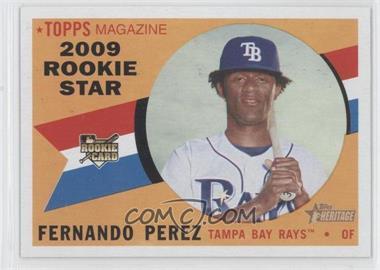 2009 Topps Heritage #120 - Fernando Perez