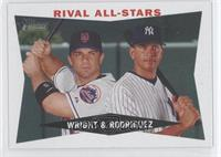 David Wright, Alex Rodriguez