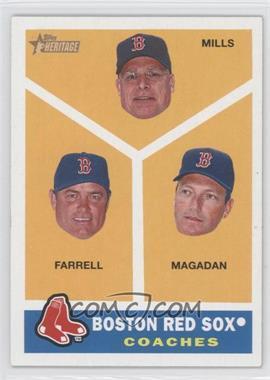 2009 Topps Heritage #456 - Brad Mills, John Farrell, Daisuke Matsuzaka