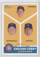 Chicago Cubs Coaches (Alan Trammell, Larry Rothschild, Matt Sinatro)