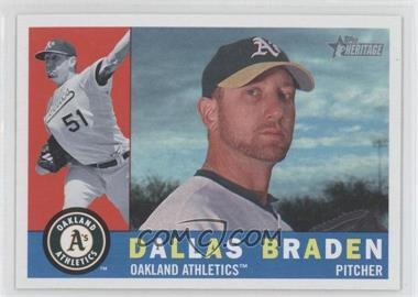 2009 Topps Heritage #549 - Dallas Braden
