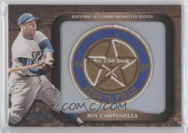 2009 Topps Legends of the Game Manufactured Commemorative Patch #LPR-10 - Roy Campanella
