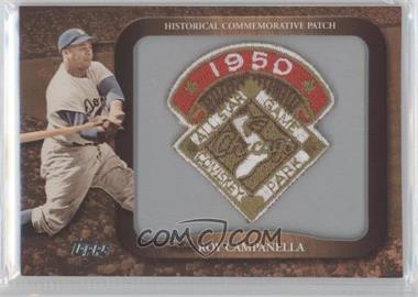 2009 Topps Legends of the Game Manufactured Commemorative Patch #LPR-112 - Roy Campanella