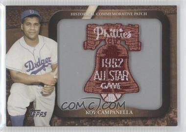2009 Topps Legends of the Game Manufactured Commemorative Patch #LPR-115 - Roy Campanella