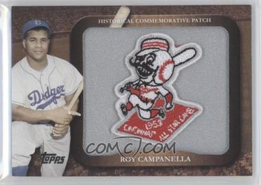 2009 Topps Legends of the Game Manufactured Commemorative Patch #LPR-14 - Roy Campanella