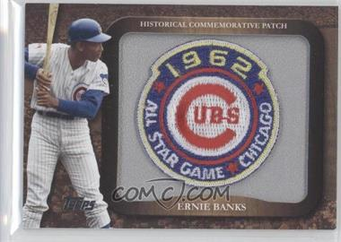 2009 Topps Legends of the Game Manufactured Commemorative Patch #LPR-27 - Ernie Banks